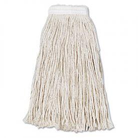 UNISAN Cut-End Wet Mop Heads, Cotton, No. 16, White