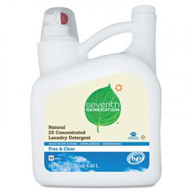 Seventh Generation® Natural 2X  Laundry Detergent, Free & Clear 150oz