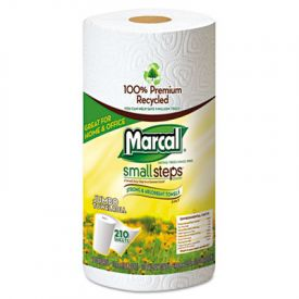 Marcal® 100% Premium Recycled Roll Towels, 8 3/4 x 11