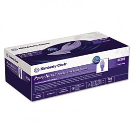 Kimberly-Clark* PURPLE NITRILE* Exam Gloves, Small, Purple
