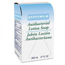 Boardwalk® Antibacterial Lotion Soap, Floral Balsam, 800ML Box