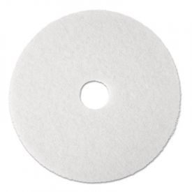 3M White Super Polish Floor Pads 4100, 13