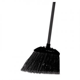 Rubbermaid® Commercial Angled Lobby Broom, Poly Bristles, 35