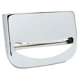 Boardwalk® Toilet Seat Cover Dispenser, 16 x 3 x 11 1/2, Chrome