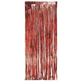 Red Door Fringe, Foil 8' x 3'