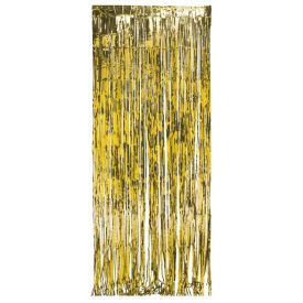 Gold Door Fringe Foil 8' x 3'