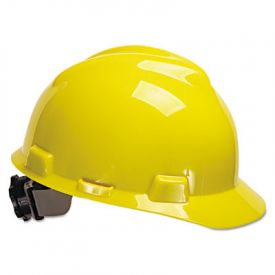 MSA V-Gard® Hard Hats, Standard Size 6 1/2 - 8, Yellow