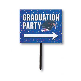 Directional Graduation Party Yard Signs