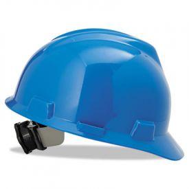 MSA V-Gard® Hard Hats, Standard Size 6 1/2 - 8, Blue