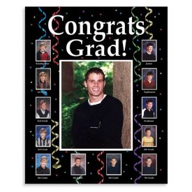 Grad Thru the Years Personalized Photo Frame