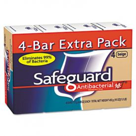 Safeguard® Deodorant Soap, Beige, 4 oz Bar