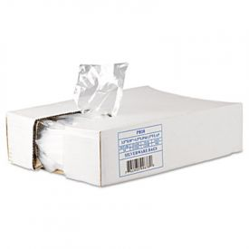 Inteplast Group Silverware Bags, 3-1/2 x 10 x 1-1/2, 0.70 Mil, Clear