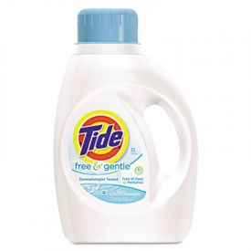 Tide® Free & Gentle Laundry Detergent, Liquid, 50 oz. Bottle