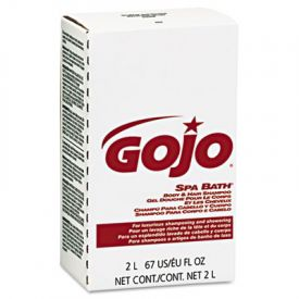 GOJO® Spa Bath Body and Hair Shampoo Refill, Herbal, Rose, NXT 2000 ML