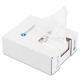 Inteplast Group Ice Bucket Liner Bags, 6 x 6 x 12, 3-Quart, 0.50 Mil