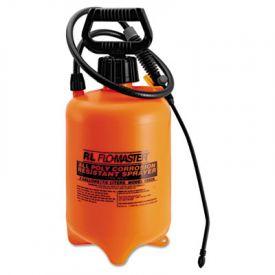 R. L. Flomaster Acid-Resistant Sprayer, 2gal, Polyethylene, Orange/Black