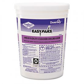 Diversey® Easy Paks HVY DTY Cleaner/Degreaser, Powder, 1.5 oz. Pac