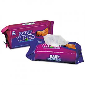 Royal Baby Wipes Unscented White