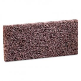 3M Doodlebug™ Brown Scrub 'n Strip Pad, 4 5/8 x 10, Brown