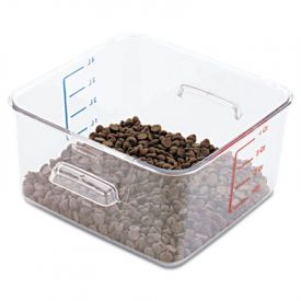 Rubbermaid® Commercial SpaceSaver Square Containers, 4 Quart