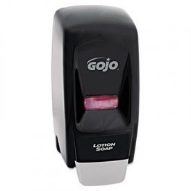 GOJO® Bag-in-Box 800-ML Dispenser, 5-3/4w x 5-1/2d x 11-1/8h, Black