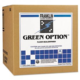 Franklin Cleaning ; Green Option; Floor Sealer/Finish, Liquid, 5 gal. Box
