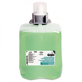 GOJO® Green Certified Foa, Hair & Body Wash, Cucumber, 2000ML Refill