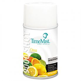TimeMist® 9000 Shot Metered Air Freshener Refill, Citrus, 7.5oz, Aerosol
