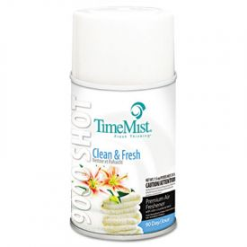 TimeMist® 9000 Shot Metered Air Freshener Refill, Clean N' Fresh, 7.5oz