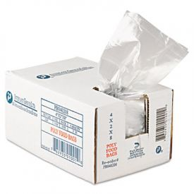 Inteplast Group Food Bags, 4 x 2 x 8, 1-Pint, 0.68 Mil, Clear,