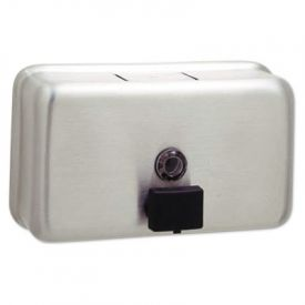 Bobrick ClassicSeries; Horizontal Surface-Mounted Soap Disp.,  40 oz