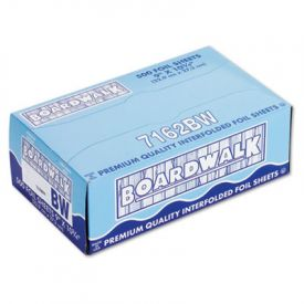 Boardwalk® Pop-Up Aluminum Foil Sheets, 9 x 10 3/4