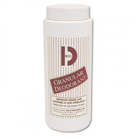 Big D Industries Granular Deodorant, Lemon, 16oz, Shaker Can