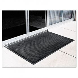 Crown-Tred™ Indoor/Outdoor Scraper Mat, Rubber, 34-1/2 x 58, Black