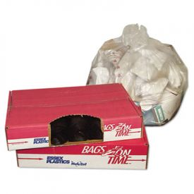 FlexSol High Density Coreless Can Liners, 24 x 33, 15-Gallon, 8 Microns