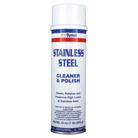 Dymon® Stainless Steel Cleaner, 20oz, Aerosol