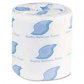 General Supply Bath Tissue, 2-Ply, 500 Sheets/Roll, White