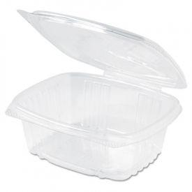 Genpak® Plastic Lid Deli Containers, 12 oz, 5-3/8 x 4-1/2 x 2-1/2