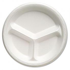 Genpak® Celebrity Foam 3-C Plate, 10.25