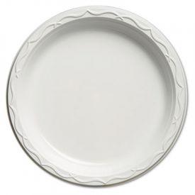 Genpak® Aristocrat Plastic Plate, 10 1/4