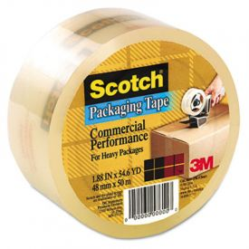 Scotch® 3750 Commercial Grade Packaging Tape, 2