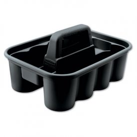 Rubbermaid® Commercial Deluxe Carry Caddy, Black