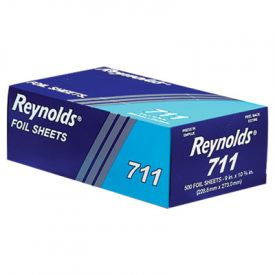 Reynolds Wrap® Interfolded Aluminum Foil Sheets, 9 x 10 3/4, Silver