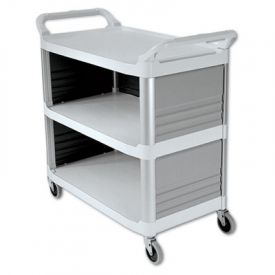 Rubbermaid® Commercial Xtra™ Utility Cart, 300-lb Cap., 20w x 40d 5/8 x 37 4/5h