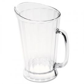 Rubbermaid® Commercial Bouncer® Plastic Pitcher, 60-oz, Clear