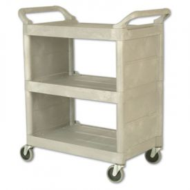 Rubbermaid® Commercial Utility Cart, 300-lb Cap.,18w x 32d x 37 1/2h