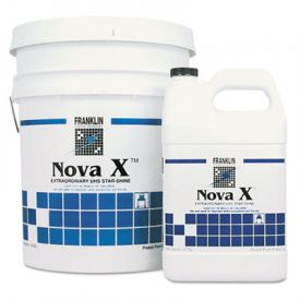 Franklin Cleaning ; Nova X; Star-Shine Floor Finish, Liquid, 1 gal. Bottle