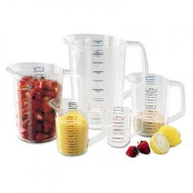 Rubbermaid® Commercial Bouncer® Measuring Cup, 8oz, Clear
