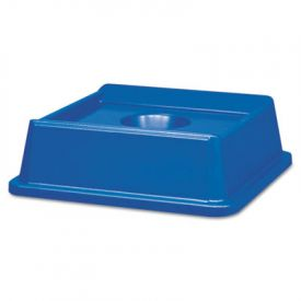Rubbermaid Commercial Untouchable Recycling Tops, Square, 20 1/8 x 20 1/8