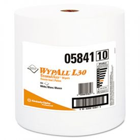 WypAll* L30 Wipers, Jumbo Roll, 12 2/5 x 13 3/10, White